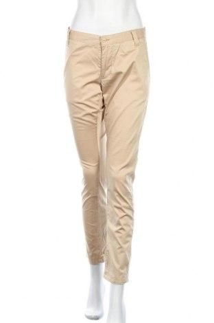 Дамски панталон Red Green, Размер M, Цвят Бежов, 97% памук, 3% еластан, Цена 6,83лв.
