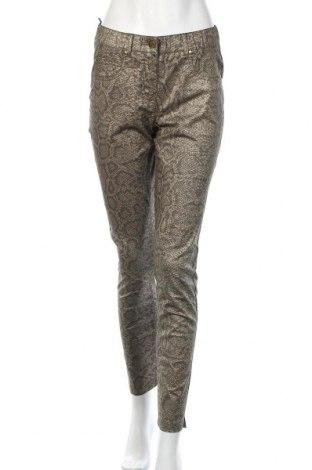 Дамски панталон Rick Cardona, Размер S, Цвят Бежов, 97% памук, 3% еластан, Цена 8,22лв.