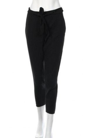 Дамски панталон S.Oliver, Размер M, Цвят Черен, Полиестер, Цена 20,79лв.