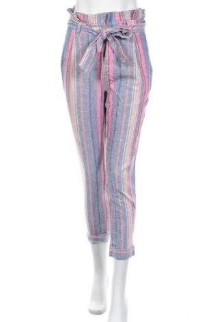 Дамски панталон Soho, Размер XS, Цвят Многоцветен, 55% лен, 45% вискоза, Цена 28,93лв.