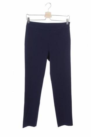 Дамски панталон Stefanel, Размер XS, Цвят Син, 62% полиестер, 33% вискоза, 5% еластан, Цена 23,80лв.