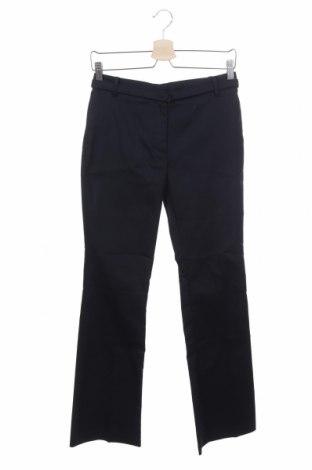 Дамски панталон Stefanel, Размер XS, Цвят Син, 83% памук, 14% полиестер, 3% еластан, Цена 24,92лв.