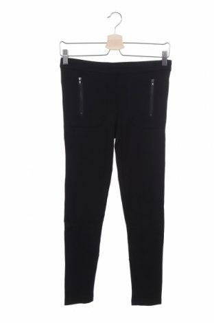 Дамски панталон Stefanel, Размер S, Цвят Черен, 68% вискоза, 27% полиамид, 5% еластан, Цена 23,80лв.