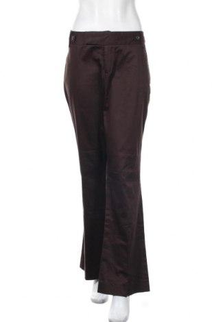 Γυναικείο παντελόνι Suzy Shier, Μέγεθος XL, Χρώμα Καφέ, 97% βαμβάκι, 3% ελαστάνη, Τιμή 10,91€