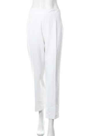 Дамски панталон Talbots, Размер M, Цвят Бял, 65% полиестер, 32% вискоза, 2% еластан, Цена 10,10лв.