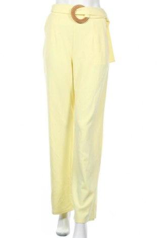 Γυναικείο παντελόνι Top Fashion, Μέγεθος S, Χρώμα Κίτρινο, Τιμή 12,16€