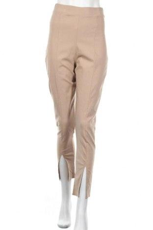 Дамски панталон Top Fashion, Размер S, Цвят Бежов, Цена 13,57лв.