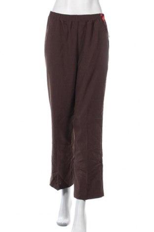 Дамски панталон Tradition, Размер M, Цвят Кафяв, Полиестер, Цена 6,80лв.