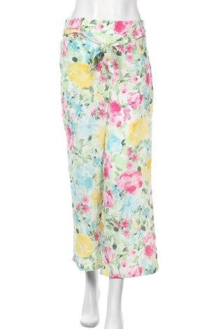 Дамски панталон Vila, Размер M, Цвят Многоцветен, 100% полиестер, Цена 27,60лв.