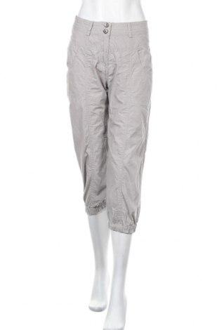 Дамски панталон Vrs Woman, Размер S, Цвят Сив, Памук, Цена 34,02лв.
