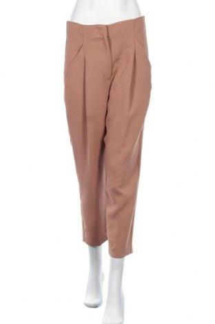 Дамски панталон Wilfred, Размер M, Цвят Кафяв, 100% полиестер, Цена 12,60лв.