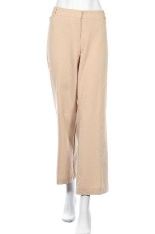 Дамски панталон Worthington, Размер XXL, Цвят Бежов, 75% полиестер, 19% вискоза, 6% еластан, Цена 36,86лв.