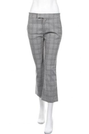 Дамски панталон Zara, Размер S, Цвят Сив, 65% полиестер, 32% вискоза, 3% еластан, Цена 15,48лв.