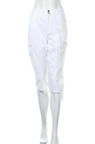 Дамски панталон Zavanna, Размер M, Цвят Бял, Памук, Цена 5,78лв.