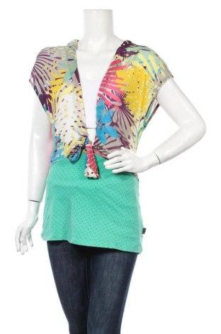 Γυναικείο αμάνικο μπλουζάκι Anna Scott, Μέγεθος L, Χρώμα Πολύχρωμο, 100% πολυαμίδη, Τιμή 9,35€
