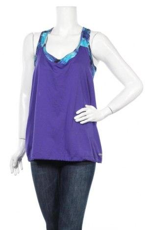 Γυναικείο αμάνικο μπλουζάκι Athletic Works, Μέγεθος XL, Χρώμα Βιολετί, 100% πολυεστέρας, Τιμή 9,28€
