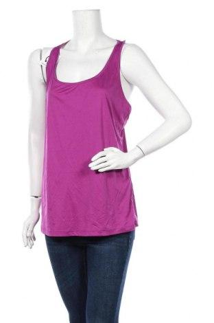 Γυναικείο αμάνικο μπλουζάκι Athletic Works, Μέγεθος XL, Χρώμα Βιολετί, Πολυεστέρας, Τιμή 10,52€