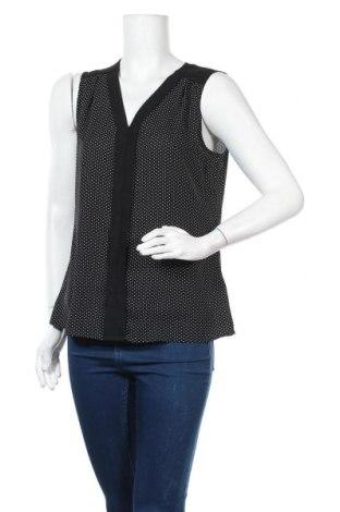 Γυναικείο αμάνικο μπλουζάκι Banana Republic, Μέγεθος M, Χρώμα Μαύρο, Πολυεστέρας, Τιμή 6,17€