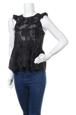 Γυναικείο αμάνικο μπλουζάκι Guess, Μέγεθος S, Χρώμα Μαύρο, Πολυεστέρας, Τιμή 16,62€