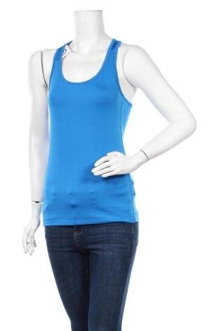 Γυναικείο αμάνικο μπλουζάκι H&M Sport, Μέγεθος S, Χρώμα Μπλέ, 92% πολυεστέρας, 8% ελαστάνη, Τιμή 4,09€