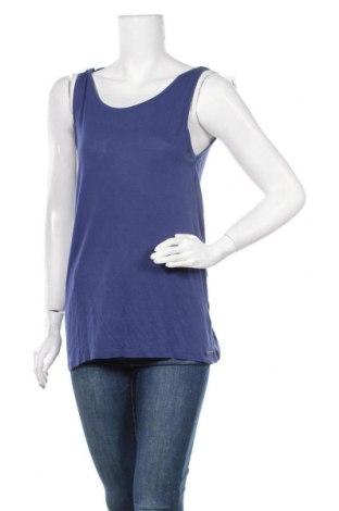 Γυναικείο αμάνικο μπλουζάκι House, Μέγεθος M, Χρώμα Μπλέ, Πολυεστέρας, Τιμή 3,35€