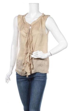 Γυναικείο αμάνικο μπλουζάκι Margit Brandt, Μέγεθος S, Χρώμα  Μπέζ, Τιμή 3,31€