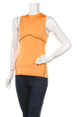 Γυναικείο αμάνικο μπλουζάκι Missguided, Μέγεθος S, Χρώμα Πορτοκαλί, Τιμή 3,35€