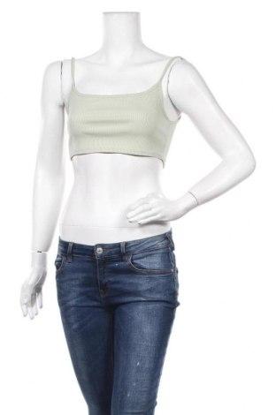 Γυναικείο αμάνικο μπλουζάκι Simple Wish, Μέγεθος S, Χρώμα Πράσινο, Τιμή 4,95€