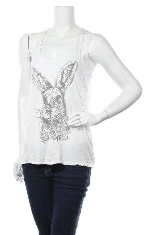 Γυναικείο αμάνικο μπλουζάκι Talula, Μέγεθος M, Χρώμα Λευκό, Βαμβάκι, Τιμή 3,18€