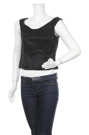Γυναικείο αμάνικο μπλουζάκι Vera Mont, Μέγεθος S, Χρώμα Μαύρο, Τιμή 22,73€