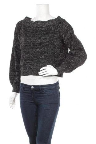 Γυναικείο πουλόβερ H&M Divided, Μέγεθος S, Χρώμα Μαύρο, 48%ακρυλικό, 22% πολυαμίδη, 9% πολυεστέρας, 9% μαλλί, 5% μεταλλικά νήματα, 4% μαλλί από αλπακά, 3% ελαστάνη, Τιμή 11,14€