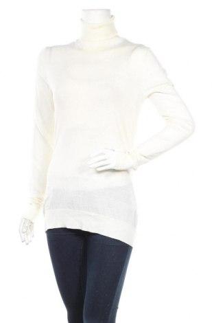 Дамски пуловер J.Lindeberg, Размер L, Цвят Бял, Вълна, Цена 34,50лв.
