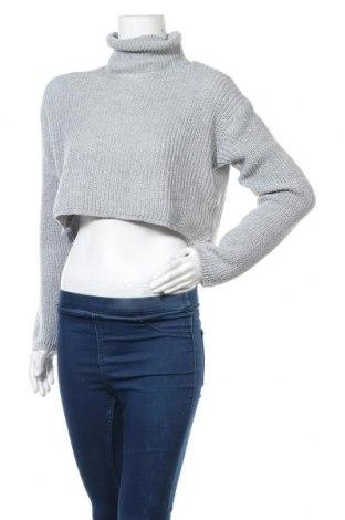 Γυναικείο πουλόβερ Missguided, Μέγεθος M, Χρώμα Γκρί, Ακρυλικό, Τιμή 17,78€