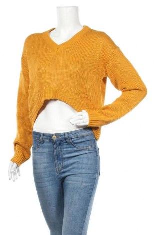 Γυναικείο πουλόβερ Noisy May, Μέγεθος M, Χρώμα Κίτρινο, Τιμή 20,10€