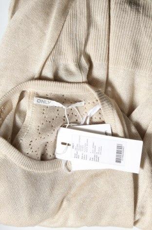 Γυναικείο πουλόβερ ONLY, Μέγεθος S, Χρώμα  Μπέζ, Τιμή 22,81€