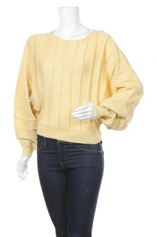 Γυναικείο πουλόβερ Vero Moda, Μέγεθος S, Χρώμα Κίτρινο, Βαμβάκι, Τιμή 22,81€