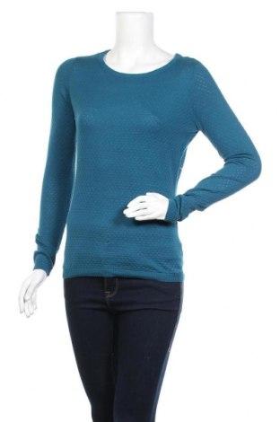 Дамски пуловер Vero Moda, Размер S, Цвят Син, Памук, Цена 11,96лв.