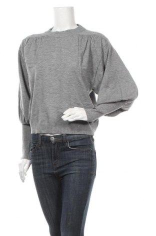 Γυναικείο πουλόβερ Vila, Μέγεθος M, Χρώμα Γκρί, 50% βισκόζη, 28% πολυεστέρας, 22% πολυαμίδη, Τιμή 22,81€