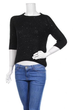 Γυναικείο πουλόβερ Zara Knitwear, Μέγεθος S, Χρώμα Μαύρο, Τιμή 10,49€