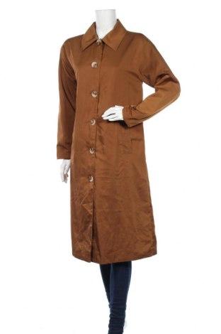 Дамско палто, Размер L, Цвят Кафяв, Цена 14,88лв.