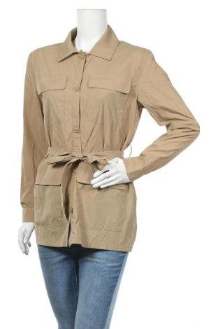 Дамски шлифер, Размер S, Цвят Бежов, Цена 14,80лв.