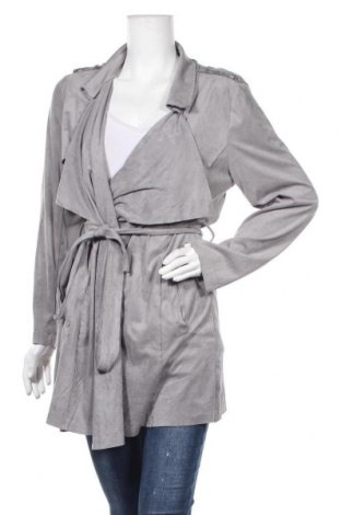 Дамски шлифер Esmara, Размер XL, Цвят Сив, Полиестер, Цена 31,92лв.