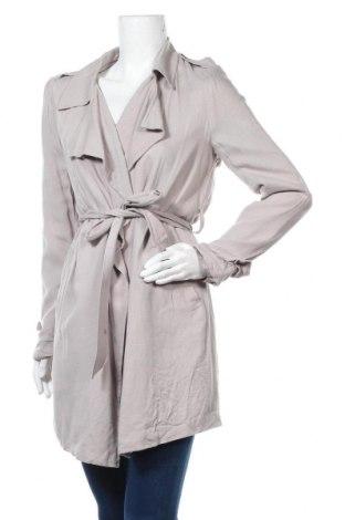 Дамски шлифер Forever 21, Размер S, Цвят Сив, Вискоза, Цена 26,46лв.