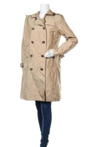 Дамски шлифер H&M, Размер XL, Цвят Бежов, 51% полиестер, 44% памук, 5% полиамид, Цена 31,08лв.