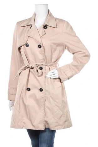 Дамски шлифер H&M, Размер M, Цвят Бежов, 65% полиестер, 35% памук, Цена 38,38лв.