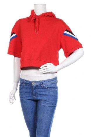 Γυναικείο φούτερ Bershka, Μέγεθος S, Χρώμα Κόκκινο, Πολυεστέρας, Τιμή 8,04€