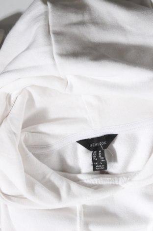 Дамски суичър New Look, Размер M, Цвят Бял, 50% памук, 50% полиестер, Цена 22,08лв.