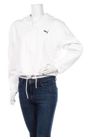 Дамски суичър PUMA, Размер M, Цвят Бял, 70% памук, 30% полиестер, Цена 40,05лв.