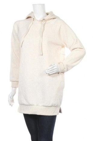 Дамски суичър Sinsay, Размер S, Цвят Бежов, 70% полиестер, 30% памук, Цена 14,44лв.