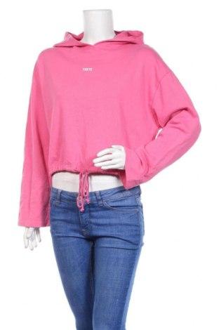 Γυναικείο φούτερ Zara, Μέγεθος S, Χρώμα Ρόζ , Βαμβάκι, Τιμή 16,70€